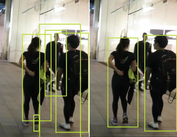 2 person walking object tracking