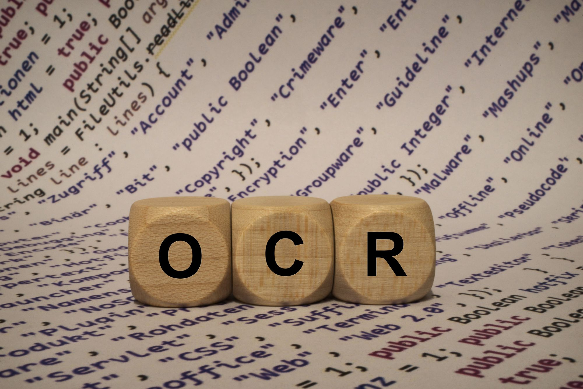 Manual Data Entry - Optical Character Recognition (OCR) for Automated Data Entry