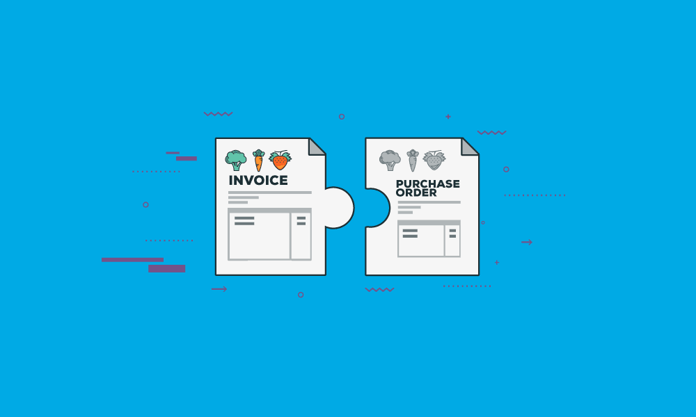 Matching invoices to POs