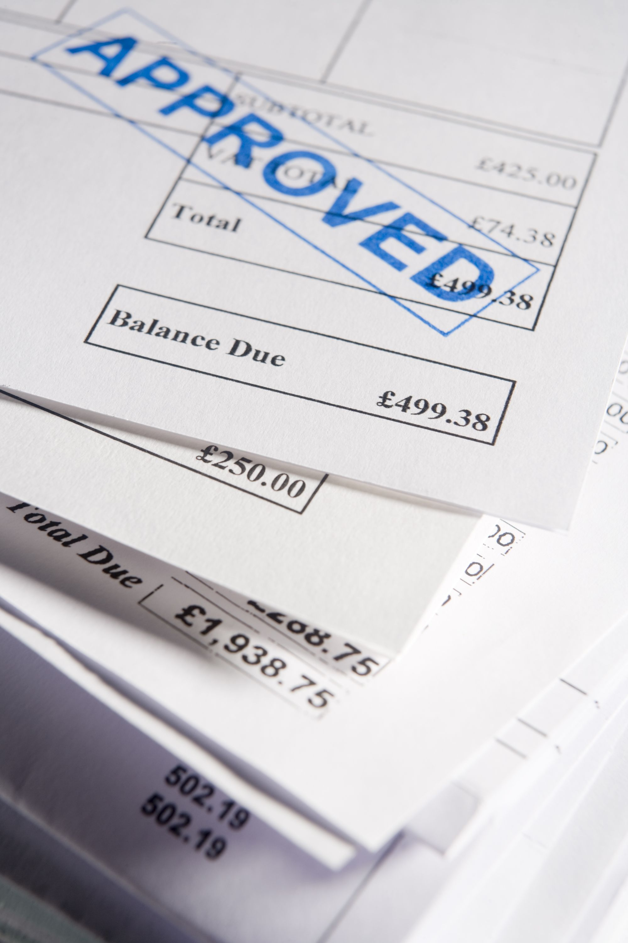 Invoice Approval - Approved Invoices
